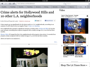 CRIME ALERT_Hollywood