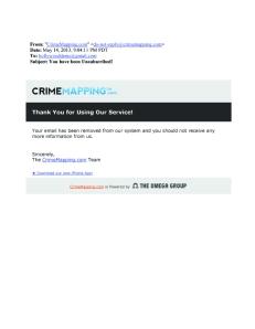 CRIME ALERT - POLITICAL BLOGGER