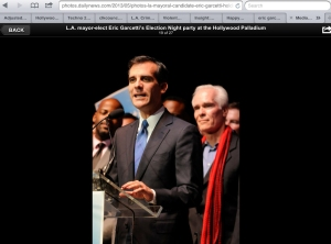 ERIC GARCETTI and DADDY DEAREST