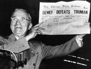 JOHN DEASY-Dewey defeats Truman